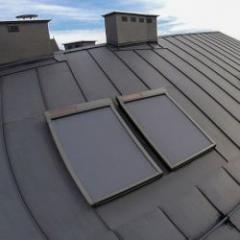 Store pare-soleil électrique extérieur pour fenêtre de toit