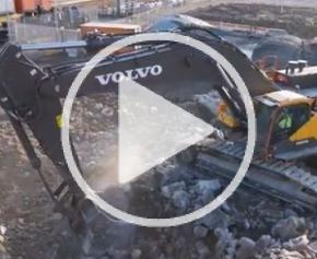 Nouvelle pelle hydrauliques Volvo : EC950F