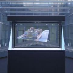 Présentation holographique des projets de bâtiments à partir des fichiers BIM