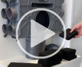 Brink : installation des mousses acoustiques
