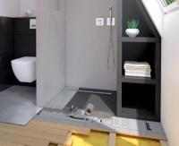Nouveau receveur de douche RioLigno spécial plancher bois