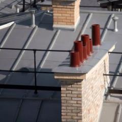 Systèmes en zinc pour des toitures de caractère