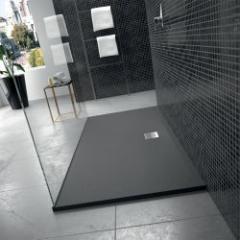 Receveurs de douche avec revêtement effet « pierre »