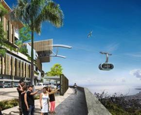 MND remporte la construction de la 2ème ligne du téléphérique urbain...
