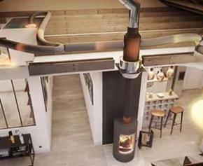 AIRWOOD, quand l'énergie bois devient la source de chauffage principale de la maison