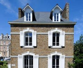 Une rénovation réussie dans le centre historique de Saint-Malo