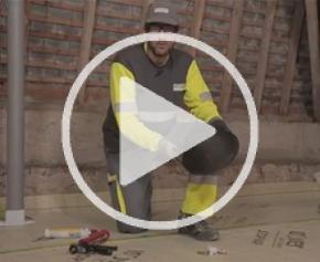 Protéger les spots électriques en combles perdus avec Isospot