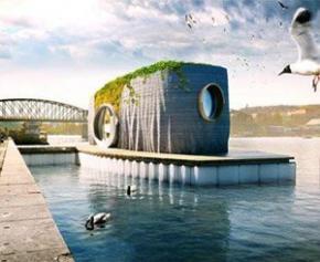 Un sculpteur tchèque dessine une maison flottante imprimée en 3D