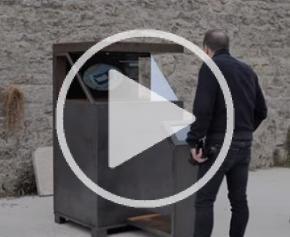 L'histoire du château des Ducs d'Alençon en hologrammes