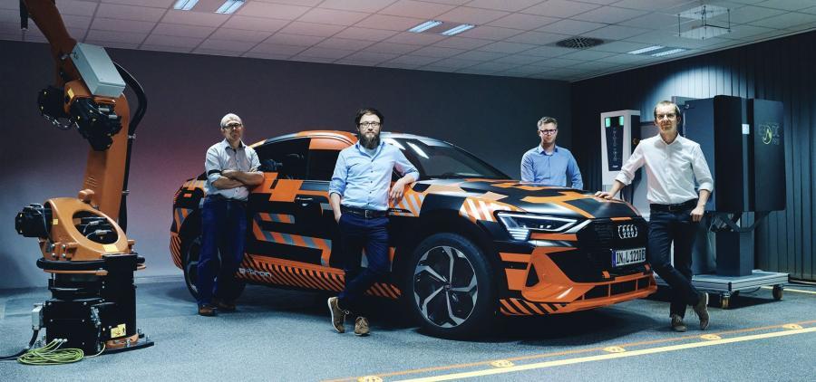 Hager Group et Audi AG présente le Vehicle to Home, la recharge bidirectionnelle du véhicule vers la maison