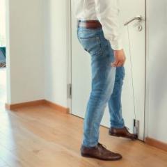 Ouverture de porte sans les mains