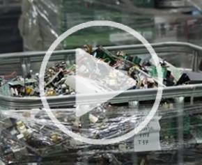 Production de métaux à partir de déchets électroniques