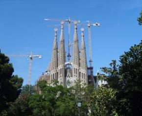 Les travaux de la Sagrada Familia prennent du retard à cause de la pandémie
