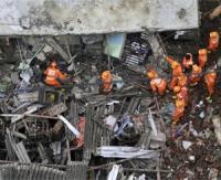 39 morts dans l'effondrement d'un immeuble en Inde selon un nouveau bilan