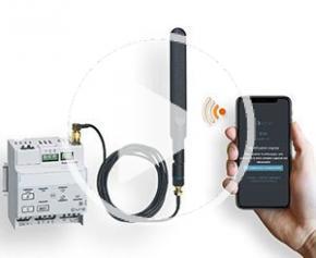Configurez votre éclairage de sécurité connecté avec la télécommande RADIO de URA et sa Web App EVA