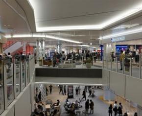 Les centres commerciaux prêts pour la jauge de densité, déjà rodée