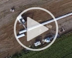 Démantèlement de pylônes pour EDF Énergies Nouvelles