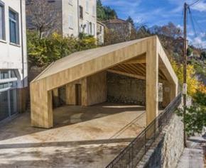 Une construction bois innovante et approvisionnée en circuit court certifiée...