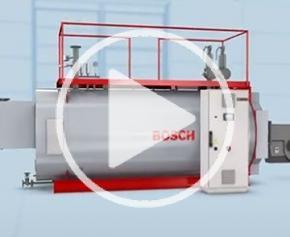 Tertiaire & Industrie - Commande compacte de chaudière à eau chaude CWC