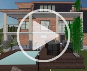 Nouveau Cedreo : zoom sur la 2D et la 3D en simultané