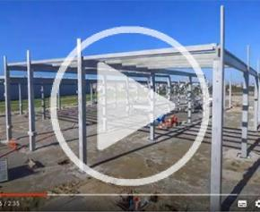 Retour en image sur le nouveau hall de l'usine de Tournefeuille (31)