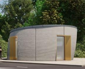 SPHÈRE : un bâtiment imprimé en 3D à Harfleur (76)