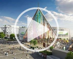 Pavillon 6 la plus grande ferme urbaine d'Europe au Parc des Expositions