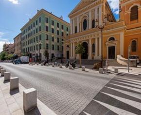 Rénovation du cours Napoléon à Ajaccio en Corse du Sud