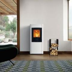 Combi stove with wood and / or pellets