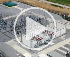 Inauguration of the Mont-Pinson express source substation