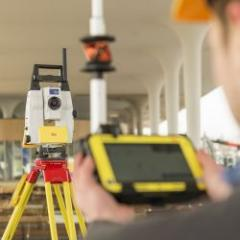 Latest generation robotic total station
