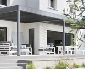 The Wallis & Outdoor® Profil Systèmes bioclimatic aluminum pergola receives ...