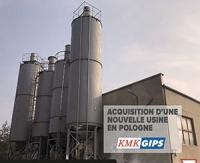 French group Toupret announces the acquisition of Polish plaster manufacturer KMK Gips
