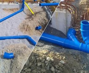 Are you building and have questions about evacuation? The advantages of the SANCOL gasket drainage system