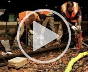 Amélioration des sols sous voies sur une ligne TGV