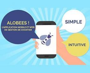 Gérez vos chantiers depuis votre Smartphone avec Sage e-chantier Alobees
