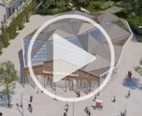 La future gare Le Blanc-Mesnil