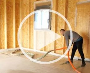 Syneris isolation maison à ossature bois