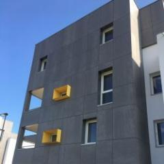 Résistance au feu des panneaux de façade en fibre-ciment Copanel