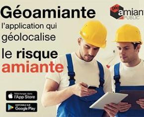 Géoamiante, une application gratuite qui géolocalise le risque amiante