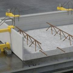 Fiber reinforced concrete formwork