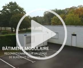Un Modulaire d'occasion pour les Services techniques de la Mairie de Basse Goulaine (44)
