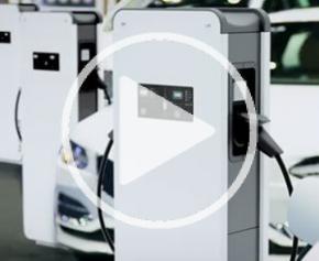 Green'up Premium - bornes de recharge métalliques pour véhicules électriques