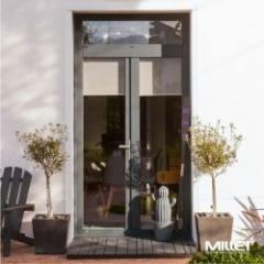 Fenêtre et porte-fenêtre extérieur alu et intérieur pvc