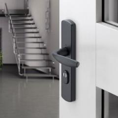 Sécurité et design: poignées de sécurité HOPPE