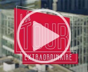 """""""La Tour Extraordinaire"""" : la web-série qui vous dévoile les coulisses de la Tour Saint-Gobain"""