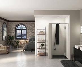 Nouvelle gamme de parois de douche Ekinox pour toutes les configurations