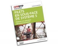 L'OPPBTP publie un nouveau guide afin de sécuriser l'utilisation des filets en sous-face de système S