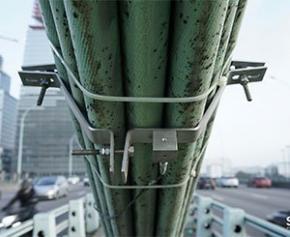 Acoustic and visual monitoring of Pont Masséna