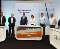 Bruno Léger, re-elected President of SNFA